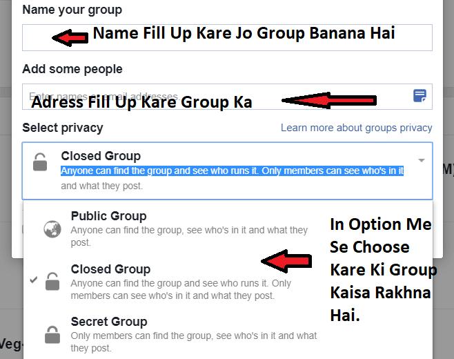 Fb Group Kaise Banaye