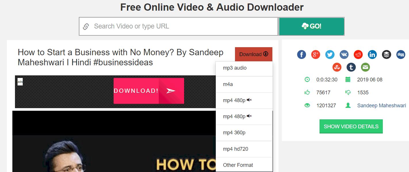 video download karne ka apps