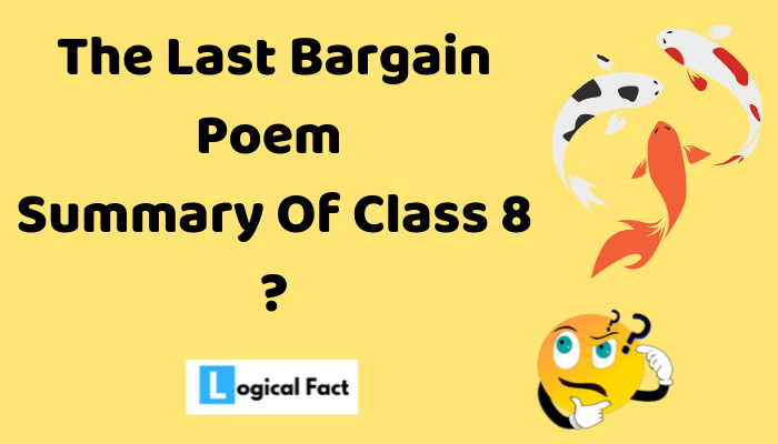 The Last Bargain Summary
