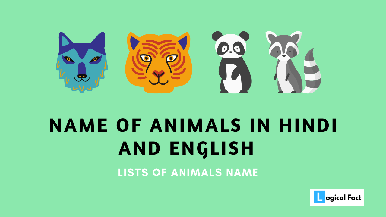 Name Of Animals In Hindi And English