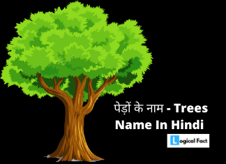 Tress Name Images In Hindi