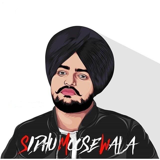 Sidhu Moose Wala Vector Art Photo