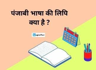 Punjabi Bhasha Ki Lipi Kya Hai