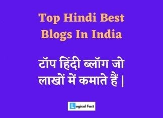 Top 20 Hindi Blogs In India